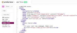 تگ html