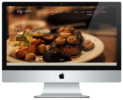 پکیج طراحی سایت رستورانی
